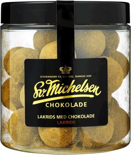 Michelsen Liquorice with chocolate and liquorice powder