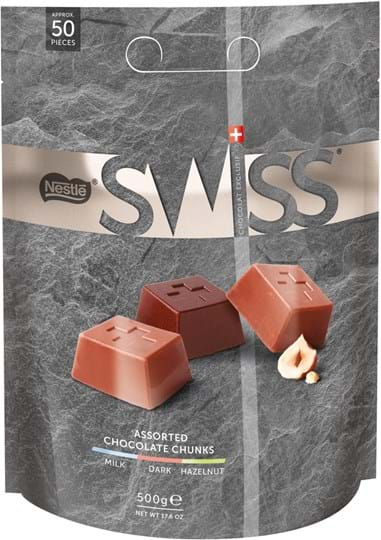 Nestlé, mix af schweizisk chokolade 470g
