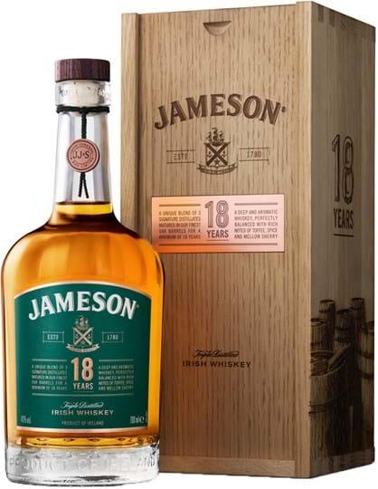 Jameson 18 yo, Wooden giftbox