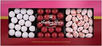 Anthon Berg Christmas Giftbox Marzipan, Hazelnuts & Almonds 175g
