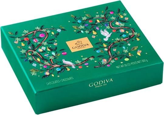 Godiva Holiday 18, 12 stk. trøfler
