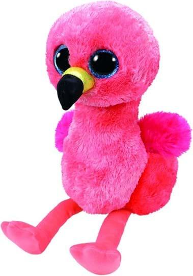 Ty, Beanie Boos, gilda flamingo - beanie boo medium