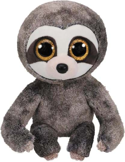 Ty, Beanie Boos, dangler sloth - beanie boo medium
