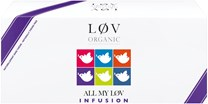 Lov Organic Assortment of flavoured herbal teas and fruit infusions