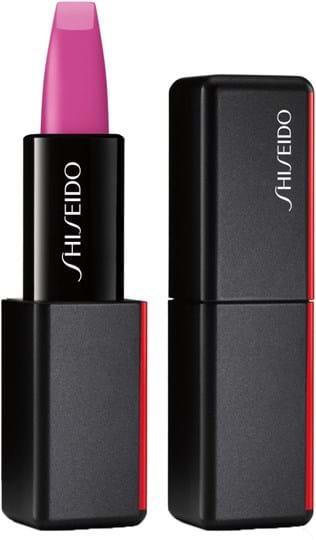 Shiseido ModernMatte‑pudderlæbestift N°519 Fuchsia Fetish