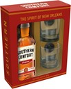 Southern Comfort 35% 1L giftpack with 2 glasses & 2 ice cubes