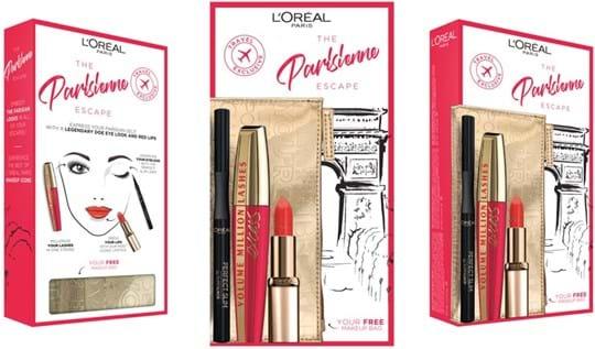 L'Oréal Paris Look on the Go-makeupsæt