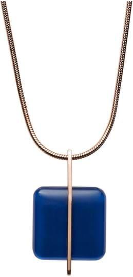 Sea Glass Skagen women's Necklace, ref.: SKJ1134791, colour: rose gold, stainless steel