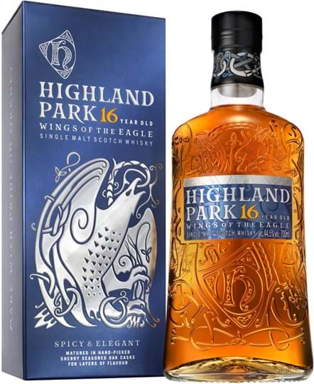 Highland Park 16 årige Wings of the Eagle 44,5% 0,7L
