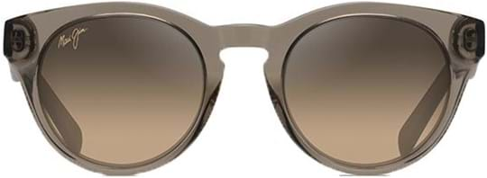 Maui Jim Dragonfly Women's Sunglasses with a frame made of acetate in taupe and lenses made of glass in brown