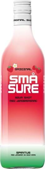 Sma Sure Jordbær 16.4% 1L