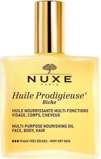 Nuxe Huile Prodigieuse Huile Prodigieuse Riche Multi-Purpose Nourishing Oil 100 ml