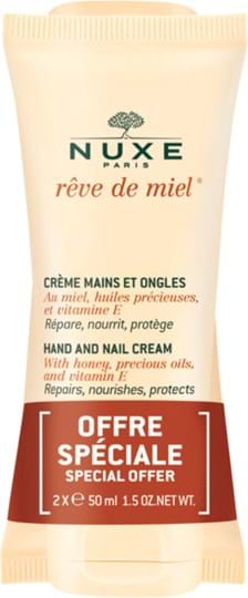 Nuxe Rêve de Miel Duo Cont.: 2x Hand and Nail Cream 50 ml (GH 1234633)