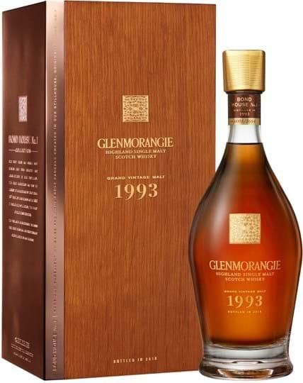 Glenmorangie Grand Vintag Malt 1993, giftbox