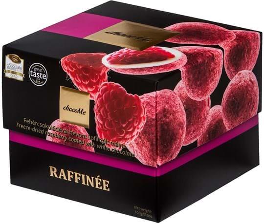 ChocoMe Chocolate dragee with raspberries