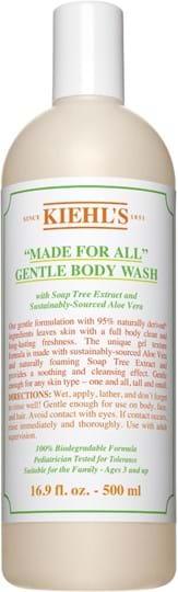 Kiehl's Made for All – skånsom, rensende kropssæbe 500ml