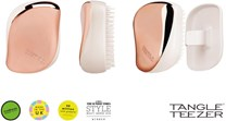 Tangle Teezer Compact Styler Detangling Hairbrush Rose Gold Ivory