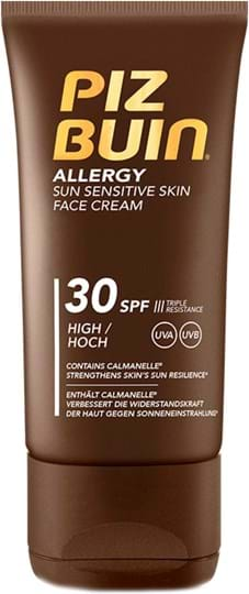 Piz Buin Allergy Sun Sensitive Cream SPF 30 50 ml
