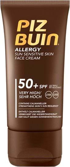 Piz Buin Allergy Sun Sensitive Cream SPF 50+ 50 ml