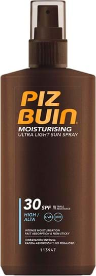 Piz Buin Ultra Light Sun Spray Sun Lotion SPF 30 200 ml