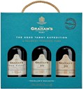 Graham´s Tawny Travel Pack 3x0.2L 20%, indeholder.: Graham´s The Tawny, Graham's 10 Years Old, Graham's 20 Years Old