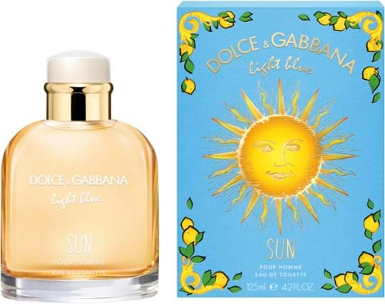 Dolce & Gabbana Light Blue Pour Homme Sun 125 ml (One Shot)