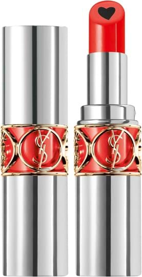 Yves Saint Laurent Volupte Plump-in-Color Lipstick N° 5 Delirious Coral