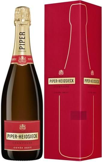 Piper‑Heidsieck, Cuvée Brut, Champagne, AOC, brut, hvid (gaveæske) 0,75L