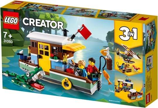 LEGO, LEGO Creator, riverside houseboat