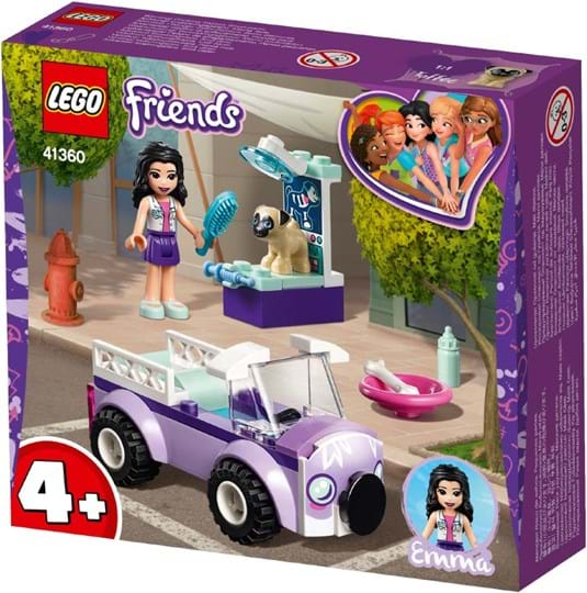 LEGO, LEGO Friends, emma's mobile vet clinic