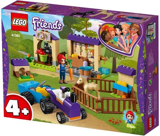 LEGO, LEGO Friends, mia's foal stable