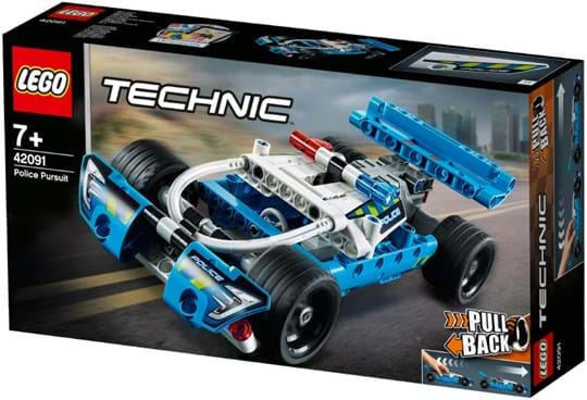 LEGO, Technic, police pursuit