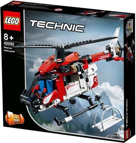 LEGO, Technic, rescue helicopter