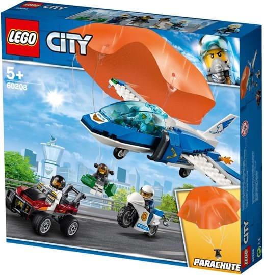 LEGO, City Police, sky police parachute arrest