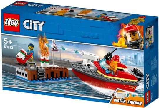 LEGO, City Fire, dock side fire