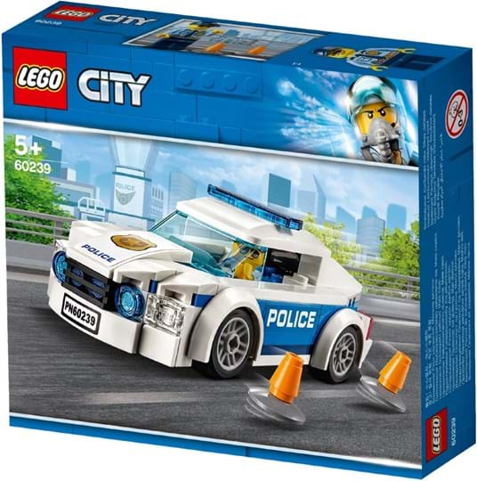 LEGO, City Police Patrol Car with removable roof