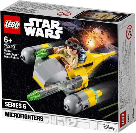 LEGO, Star Wars Naboo Starfighter Microfighter