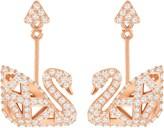 Swarovski, women's earring, size 1.5 CM