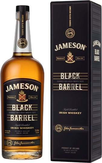 Jameson Black Barrel 40 % 1L gaveæske