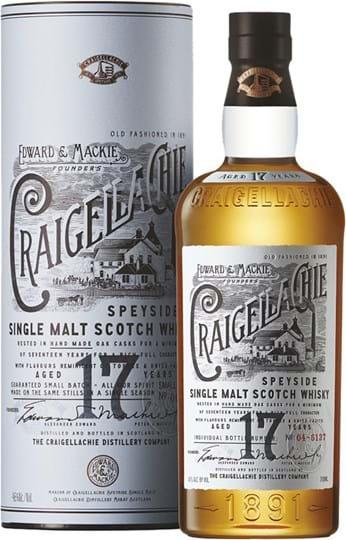 Craigellachie 17 YO, Single Malt Scotch Whisky, giftpack
