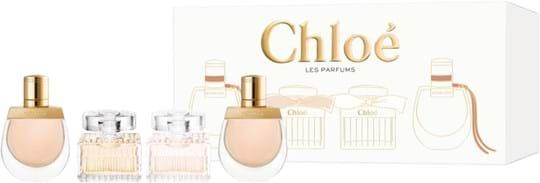 Chloé Coffret cont.: Signature EdP 5 ml + Signature EdT 5 ml + 2x Nomade EdP 5 ml