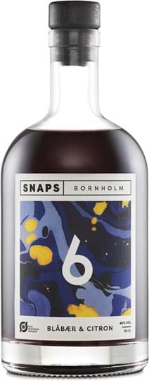 Bornholm No6 Blueberry & Lemon, organic