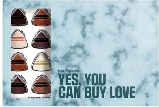 Simply Chocolate 24 mixed giftbox 240g
