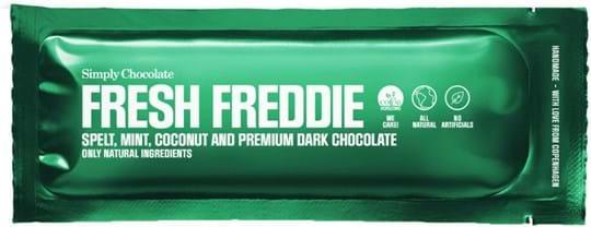 Simply Chocolate Fresh Freddie bar 40g