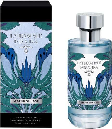 Prada L'Homme L'Eau Water Splash Eau de Toilette 150 ml
