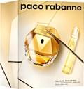 Paco Rabanne Lady Million-sæt bestående af: Eau de Parfum 80 ml (GH 447828) + rejsespray 20 ml (gratis)