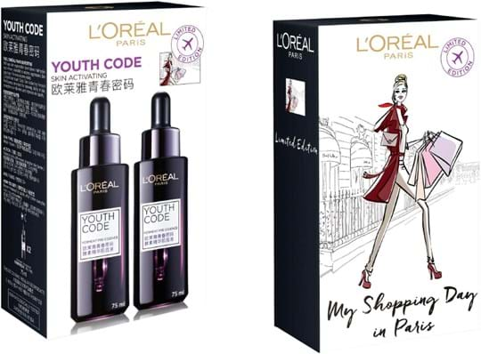 L'Oréal Paris Youth Code Face Care Set