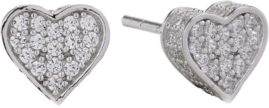 Sif Jakobs Earrings Amore with white zirconia