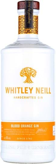 Whitley Neill Blood Orange Gin 43% 1L
