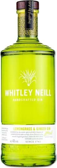 Whitley Neill Lemongrass & Ginger Gin 43 % 1L